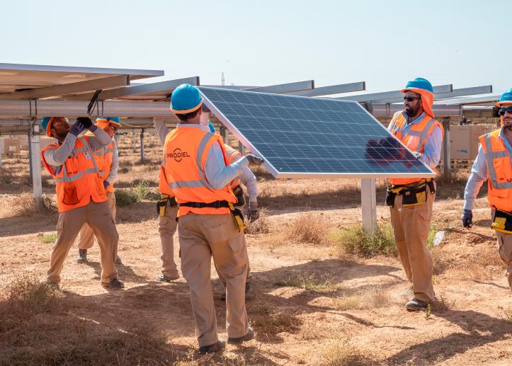 ENERGIA LIMPIA XXI PRODIEL POWER CHINA CON TECNOLOGIA SOLAR DE ULTIMA GENERACION