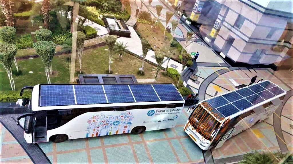 Solar bus brings free internet lab and education across rural communities in India – GO ECO GREEN21
